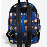 Loungefly Marvel Avengers Endgame Chibi Print Mini Backpack - The Nerd Source Code