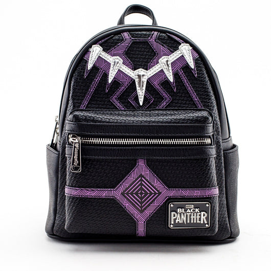 Loungefly Marvel Black Panther Mini Backpack - The Nerd Source Code