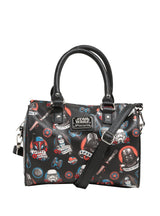 Loungefly Star Wars Dark Side Tattoo Flash Print Duffle Bag - The Nerd Source Code