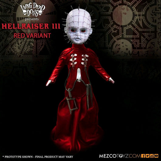 Living Dead Dolls Hellraiser Pinhead Red - Entertainment Earth Exclusive - The Nerd Source Code