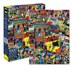 DC Comics Batman Retro Collage 1000pc Puzzle - The Nerd Source Code
