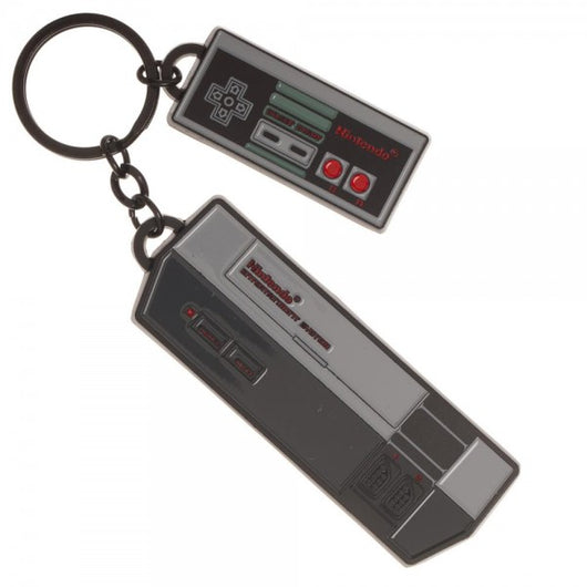 Nintendo Controller Charm Key - The Nerd Source Code