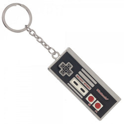 Nintendo Controller Metal Keychain - The Nerd Source Code