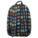 Nintendo Super Mario All Over Print Sublimated Backpack - The Nerd Source Code