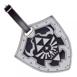 Nintendo Zelda Shield PU Luggage Tag - The Nerd Source Code