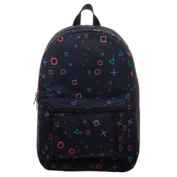 Playstaion All Over Print Sublimated Backpack - The Nerd Source Code