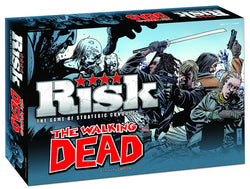 Risk The Walking Dead Edition Board Game - The Nerd Source Code
