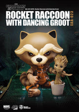 Guardians of the Galaxy Rocket Raccoon with Groot Egg Attack Action EAA-023 - The Nerd Source Code