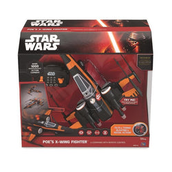 Star Wars Poe's X-Wing Fighter U-Command With Radio Control - The Nerd Source Code