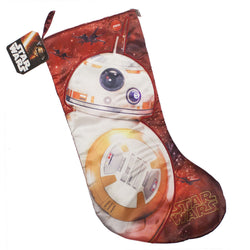 Star Wars: The Force Awakens BB-8 Stocking with Sound - The Nerd Source Code