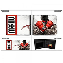Street Fighter Bi-fold Wallet - The Nerd Source Code