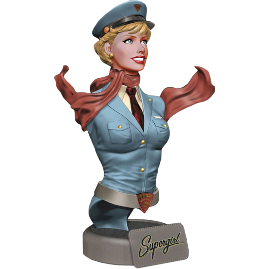 Supergirl Mini Bust - DC Bombshells - The Nerd Source Code