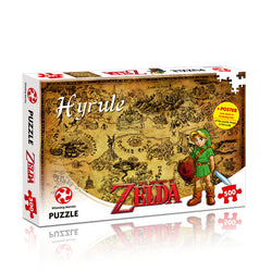 The Legend of Zelda Hyrule Field 500 Piece Puzzle - The Nerd Source Code