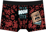 This Is My Boom Stick Boxer Briefs - The Nerd Source Code
