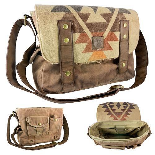 Walking Dead - Daryl's Poncho Messenger Bag - The Nerd Source Code