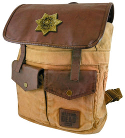 Walking Dead - Rick Grimes Sheriff Backpack - The Nerd Source Code