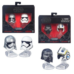 Star Wars Black Series Metal Helmet 2 Pack Wav 1 - The Nerd Source Code