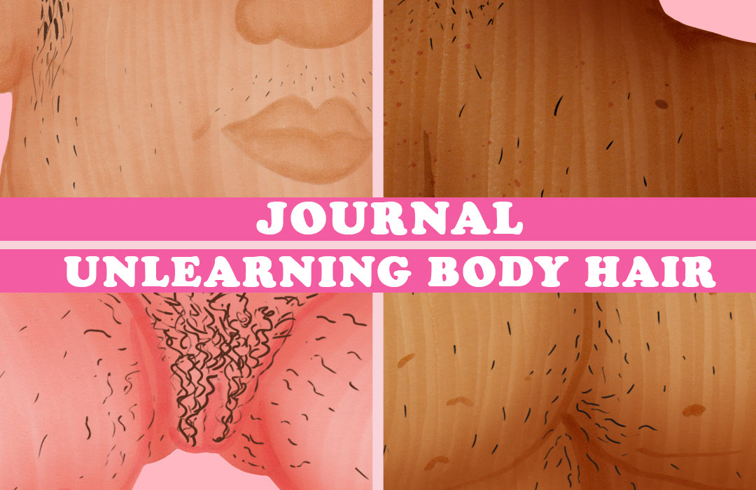 Pink Bits Journal | Unlearning Body Hair