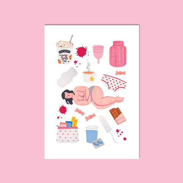 Period Essentials A4 Giclee Print
