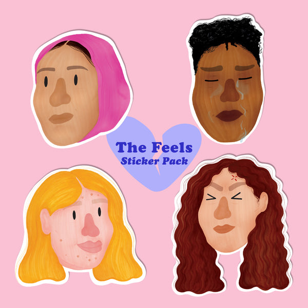 The Feels Sticker Pack