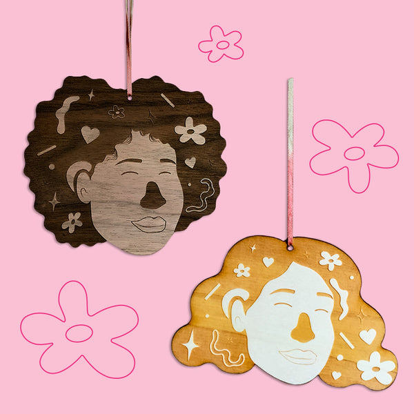 Day Dreamer Wooden Ornaments