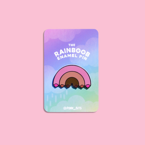 Rainboob Hard Enamel Pin