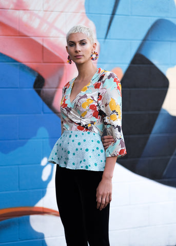The Khadija Wrap Top