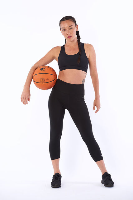Activewear yoga pants bamboo 3/4 length