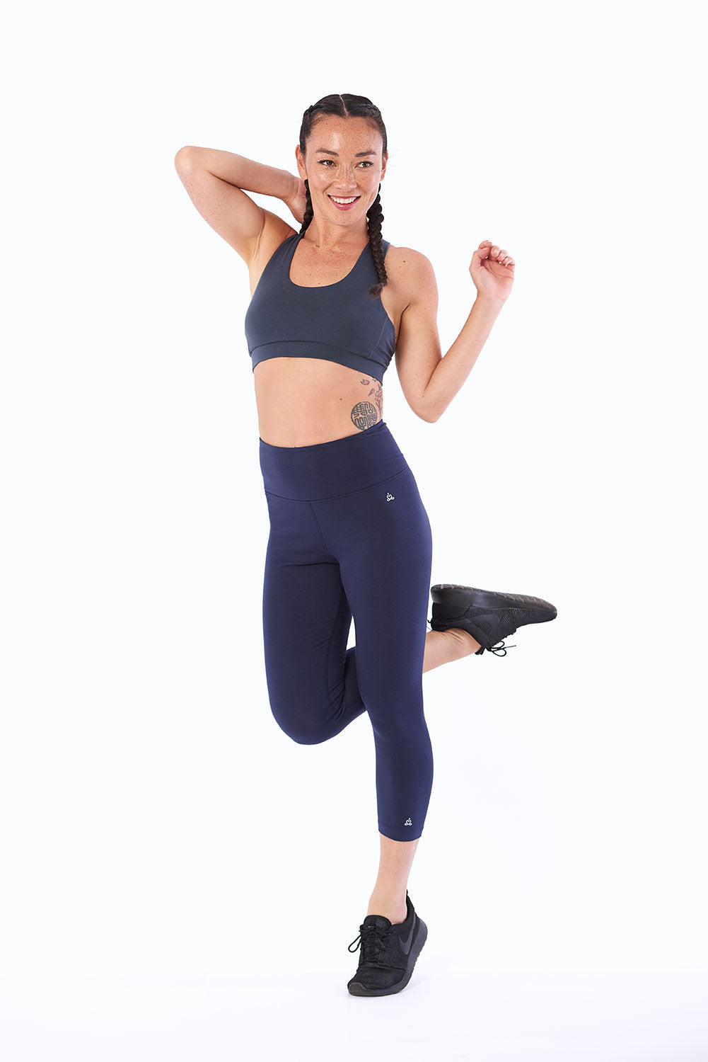 Best Activewear tights for yoga Byron Bay organic cotton