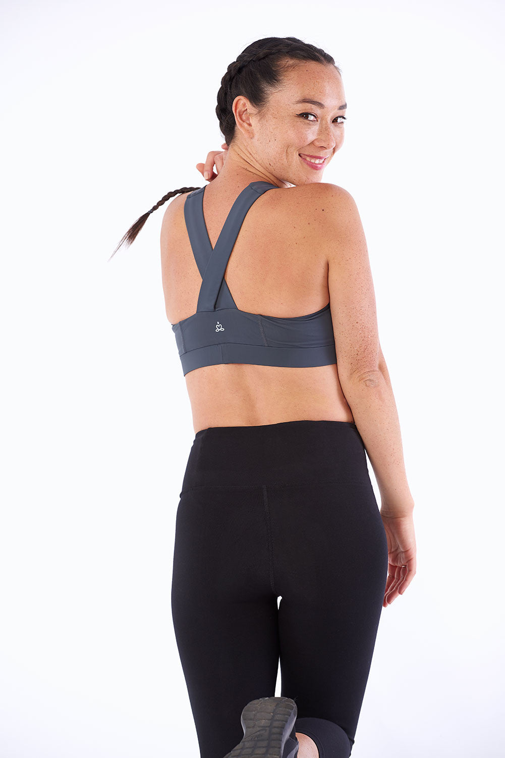 Activewear yoga tights made of bamboo