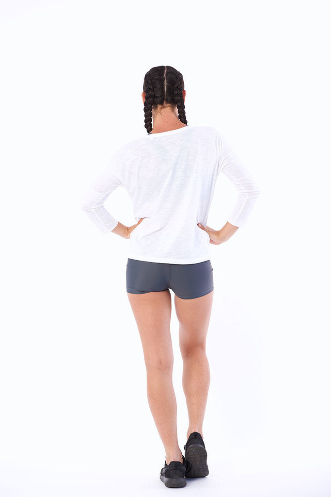 Activewear yoga organic cotton workout top