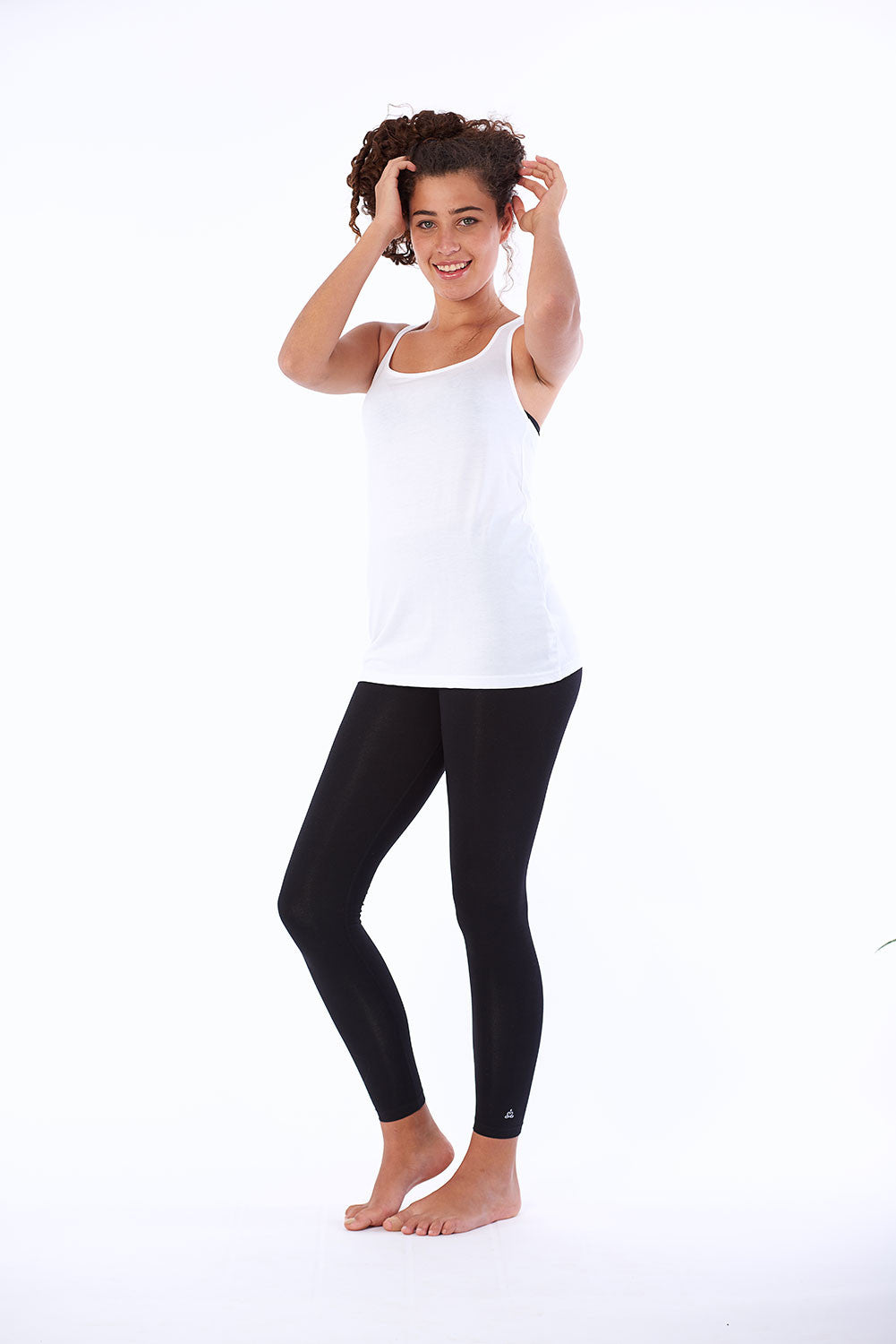 Activewear yoga top organic cotton