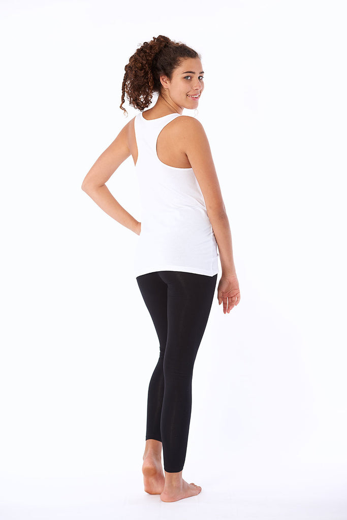 Activewear yoga top organic cotton best fitting