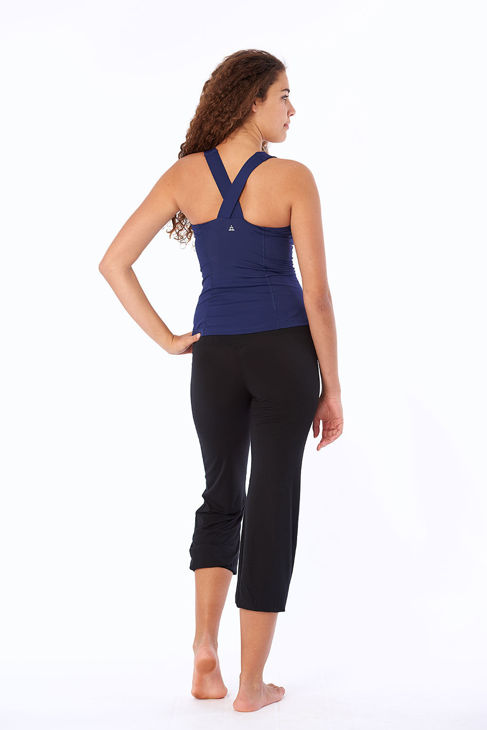 Activewear yoga top sports back