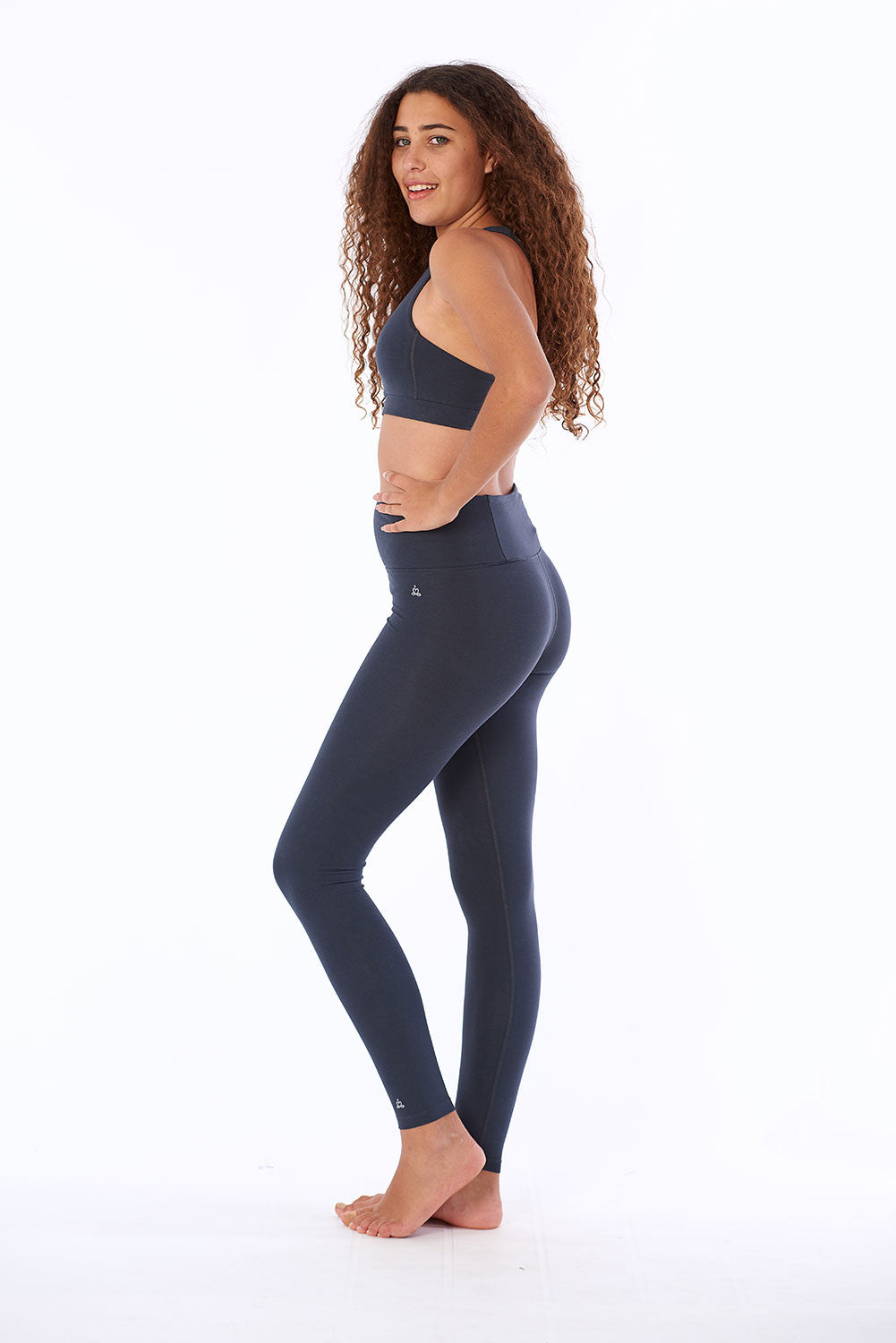 Activewear Yoga pants tights in organic cotton