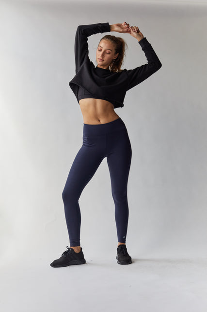 Organic Cotton Cropped Sweat