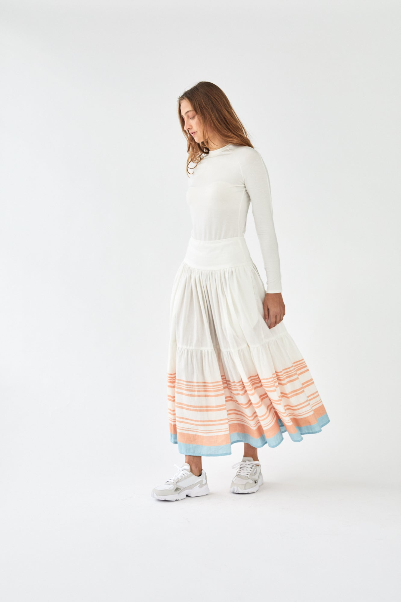 Merivale Maxi Skirt Jacobs Stripe