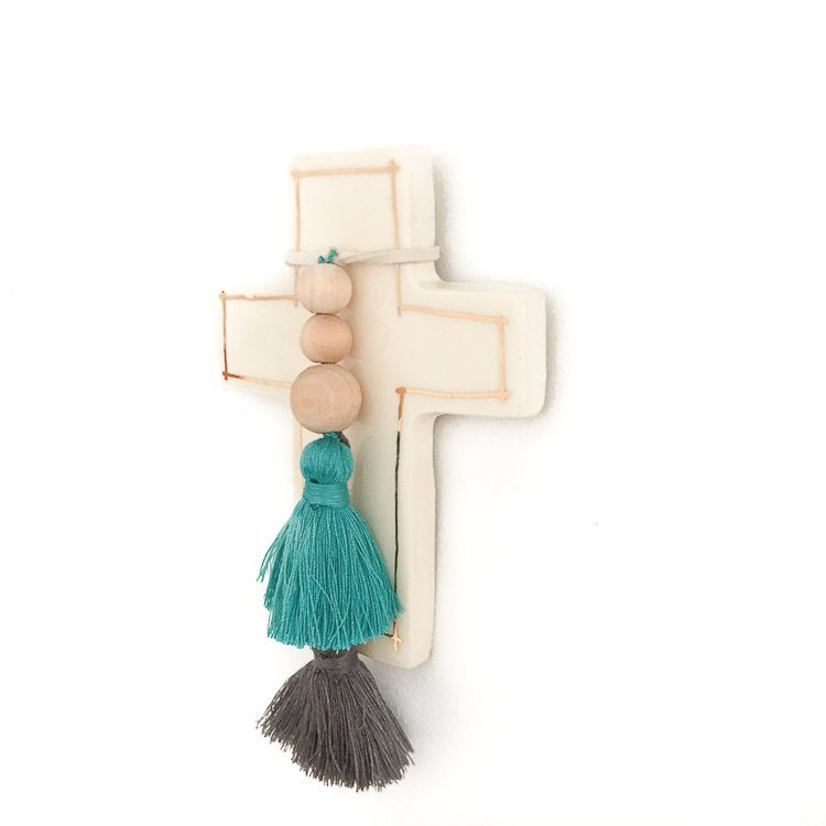 Pomball Ceramic Cross
