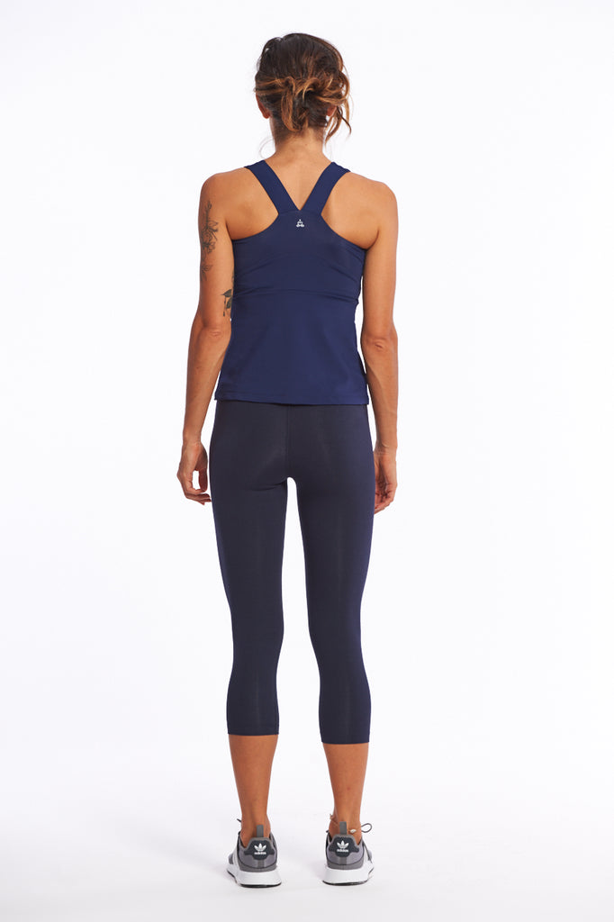 Activewear top with sports back