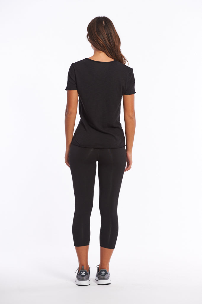 What to wear to yoga organic cotton top