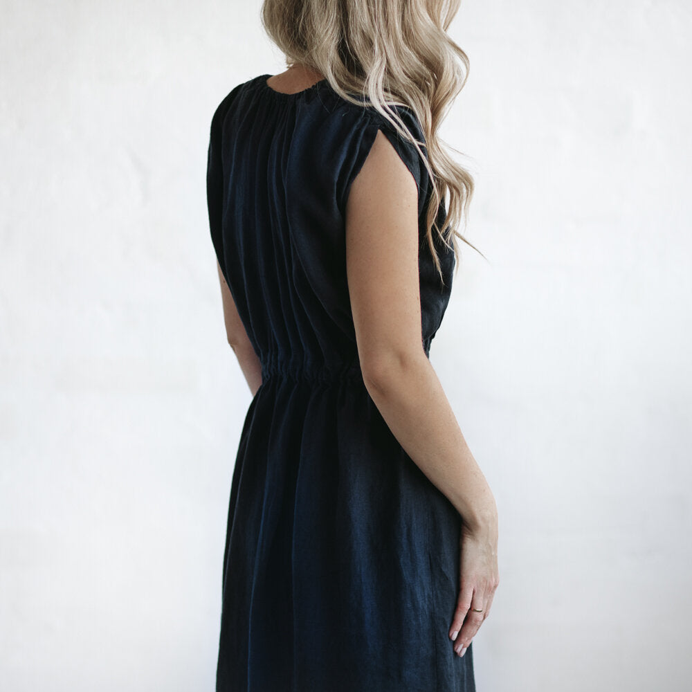Dress Column Navy