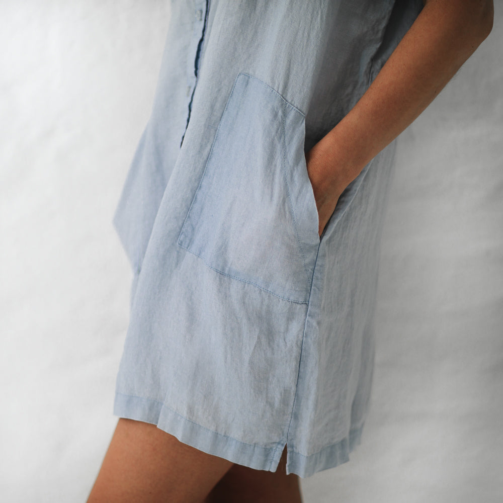 Dress - Short Blue
