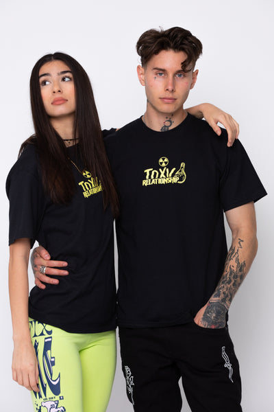 Toxic Relationship S/S Tee Blk/Ylw