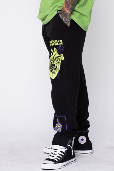 Delirious Sweatpants Black