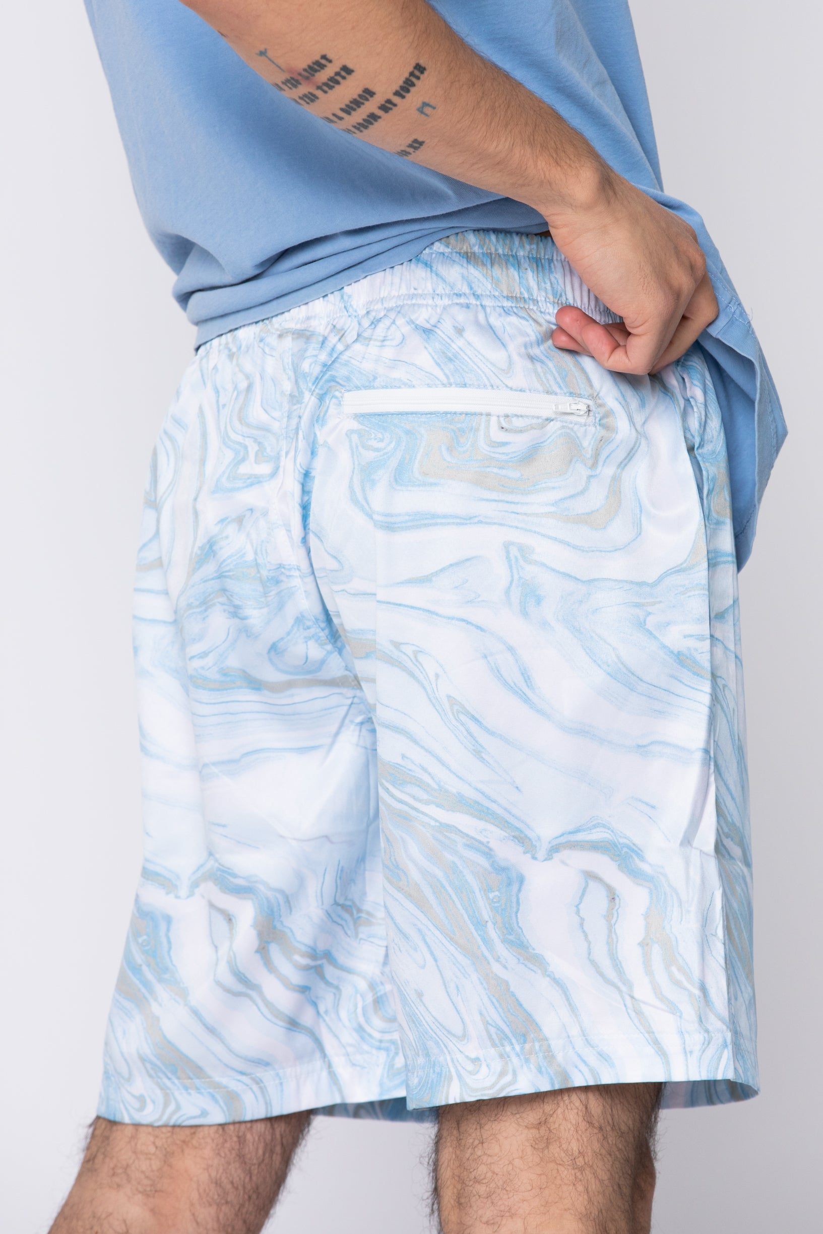 Beach Break Marble Dye Shorts