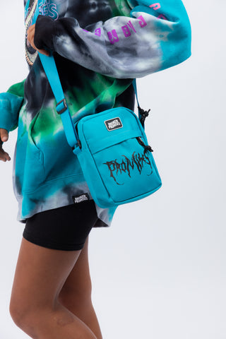 Graveyard Side Bag Teal