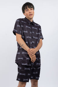 Skrilla Button-Up Shirt