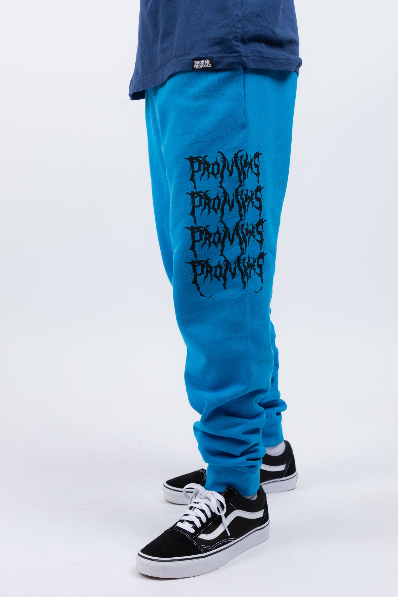 Graveyard Sweatpants Blue