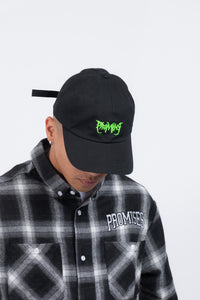 Graveyard Dad Hat Black/Green