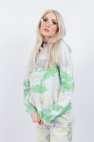 Spaced Out Tie Dye Hoodie